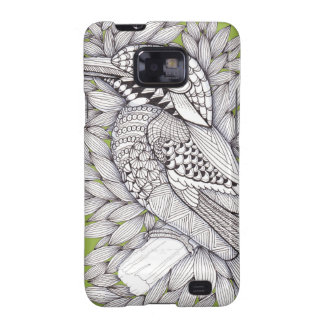 Magical Zentangle Halcyon on Sage Samsung Galaxy SII Cases