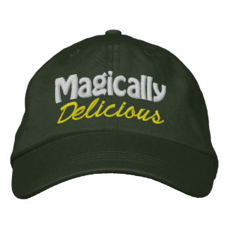Magically Delicious - CUSTOMIZABLE! Embroidered Baseball Caps