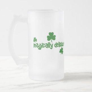 Magically Delicious Frosted Beer Mug mug