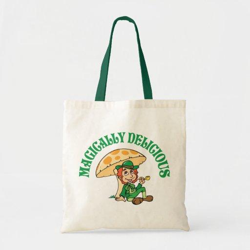 Magically Delicious Leprechaun Canvas Bag