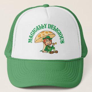 Magically Delicious Leprechaun Trucker Hat