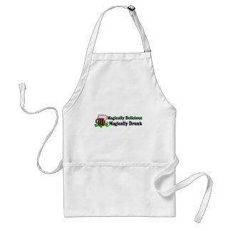Magically Delicious Magically Drunk Adult Apron