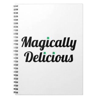 Magically Delicious Spiral Note Books