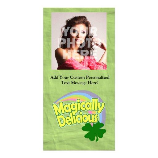 Magically Delicious Photo Card