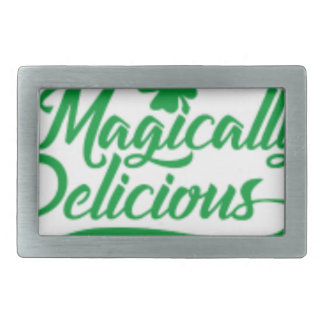 Magically Delicious St. Patrick's Day Belt Buckle