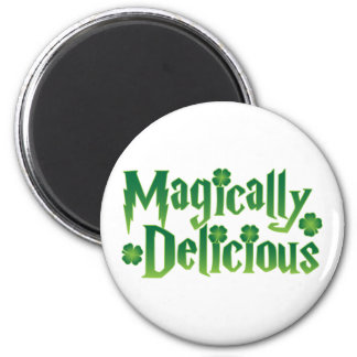 magically delicious st patricks funny tshirt magnet
