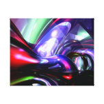Magically Fantastic Abstract Stretched Canvas Print