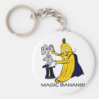 MagicBananaBunny Basic Round Button Keychain