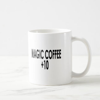 magiccoffee+10 classic white coffee mug