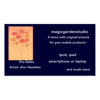 magicgardenstudio* Business Cards