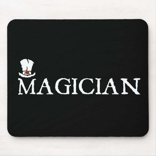 Magician and Hat Mouse Pad