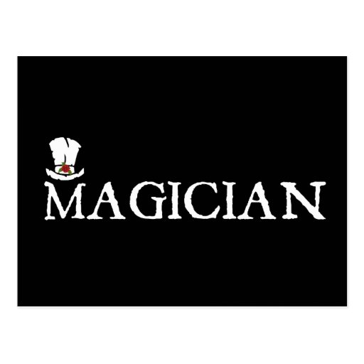 Magician and Hat Postcards