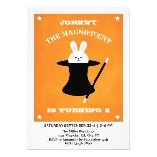 Magician Birthday Party Invitation