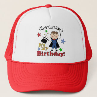 Magician Birthday Trucker Hat