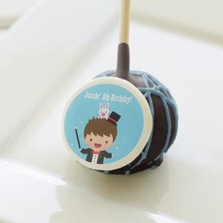 Magician Boy Kids Magic Birthday Party Treats Cake Pops