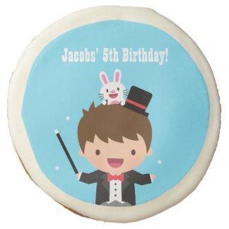 Magician Boy Kids Magic Birthday Party Treats Sugar Cookie