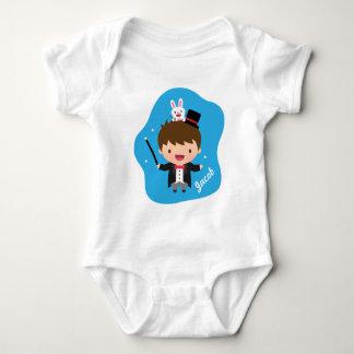 Magician Boy Magic Bunny Trick For Babies Baby Bodysuit