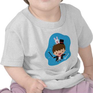 Magician Boy Magic Bunny Trick For Babies T Shirt