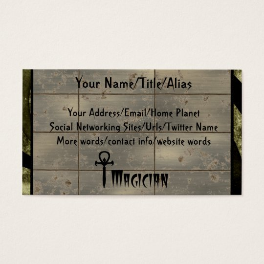 Magician Business Card