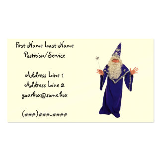 Magician Business Cards