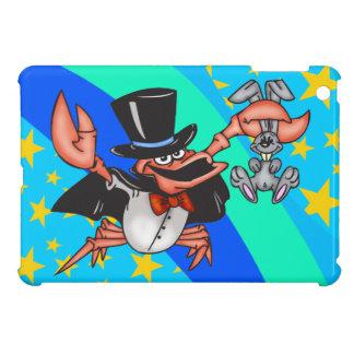 Magician Cartoon Crab iPad Mini Case