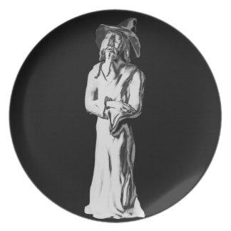 Magician Dinner Plate