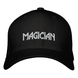 MAGICIAN EMBROIDERED BASEBALL HAT