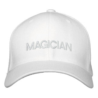 MAGICIAN EMBROIDERED BASEBALL CAP