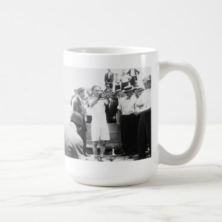Magician Harry Houdini Overboard Box Escape 1912 Coffee Mug