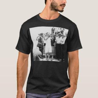 Magician Harry Houdini Overboard Box Escape 1912 T-Shirt