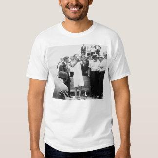 Magician Harry Houdini Overboard Box Escape 1912 T Shirt