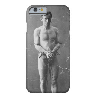 Magician Harry Houdini Standing In Chains Barely There iPhone 6 Case