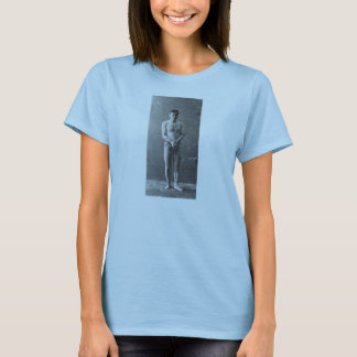 Magician Harry Houdini Standing In Chains T-Shirt