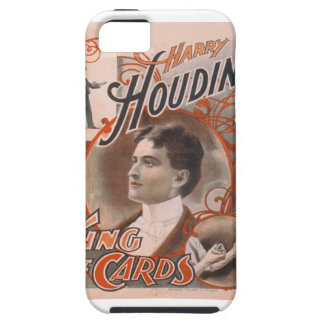Magician Harry Houdini The King Of Cards iPhone SE/5/5s Case