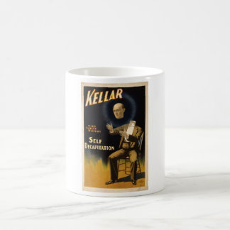 Magician Harry Kellar - self Decapitation Trick Classic White Coffee Mug