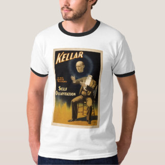 Magician Harry Kellar - self Decapitation Trick T-Shirt