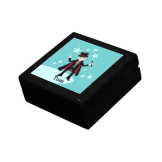 Magician Kid Birthday Party Jewelry Box