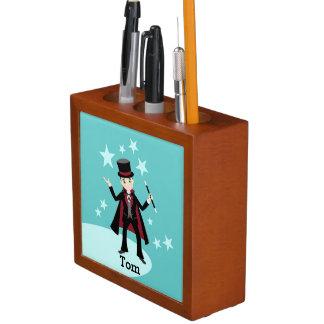 Magician kids birthday party desk organizer
