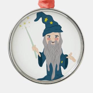 Magician Metal Ornament