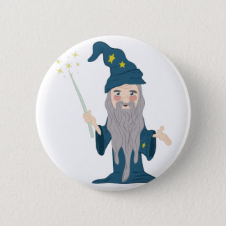 Magician Pinback Button