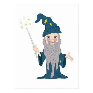 Magician Postcard