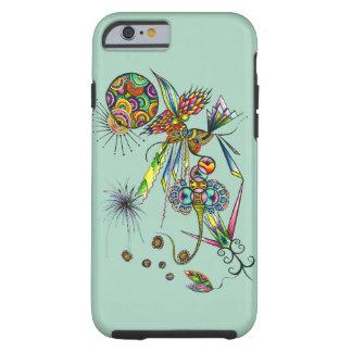 Magician - psychedelic fantasy magic art tough iPhone 6 case