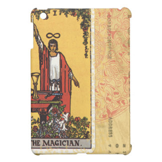 Magician Tarot Card Fortune Teller Postcard iPad Mini Case