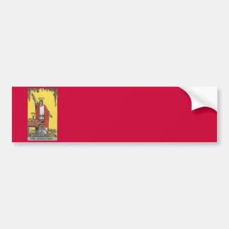 Magician tarot card image bumper sticker