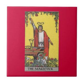 Magician tarot card image tile