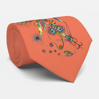Magician - tie psychedelic illustration for party