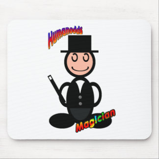 Magician (with logos) mouse pad