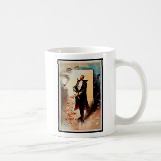 Magician with skull and roses (1892) coffee mug