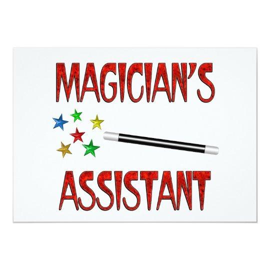 Magicians Assistant Card