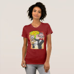 Magician's bunny feeling mad and saying bad words T-Shirt